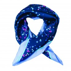 FOULARD TOURBILLON BLANC CACHAREL