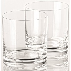 LOT DE 6 VERRES TRANSPARENTS BOHEMIA 28 CL