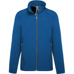 VESTE SOFTSHELL 2 COUCHES FEMME OU HOMME 300 G