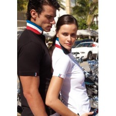 POLO NATION FRANCE HOMME COL RAYE