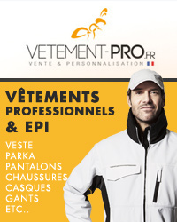Site internet de vetements professionnels