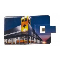 CLÉ USB CARTE DE CRÉDIT DOUBLE EMBOUT