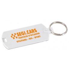 Porte-clés porte-étiquette