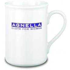 Mug personnalisé en porcelaine blanc 25 cl