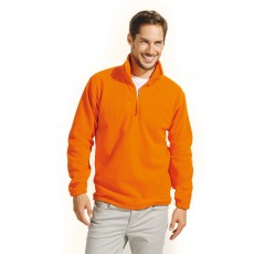 Sweat-shirt col zippé polaire homme 300 g