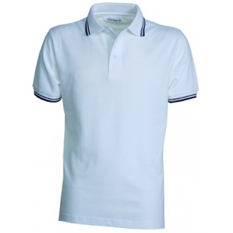 POLO HOMME RAYE 210 G