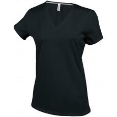 T-shirt personnalisé col V femme ou homme, 180 g