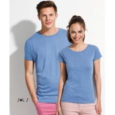 Tee-shirt femme ou homme jersey semi-peigné 150 g