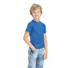 Tee-shirt enfant semi-peigné 190 g couleur