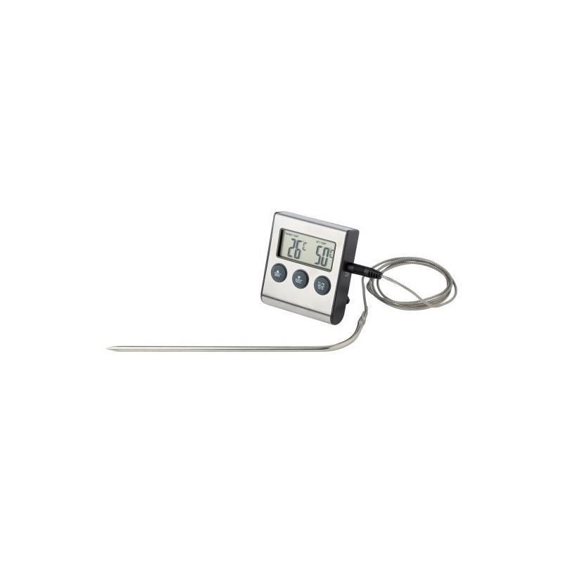 minuteur et thermometre de cuisson digital. Black Bedroom Furniture Sets. Home Design Ideas