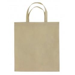 Sac shopping non-tissé anses courtes 10L