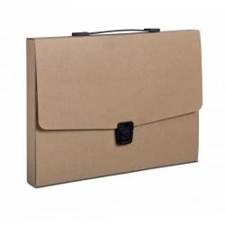 Valisette A4 personnalisée en carton recyclée