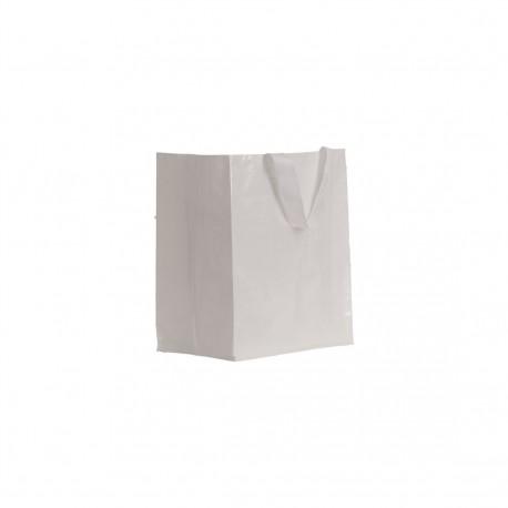 Sac shopping PP petit modèle blanc