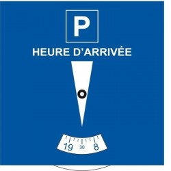 Disque de stationnement Européen personnalisé