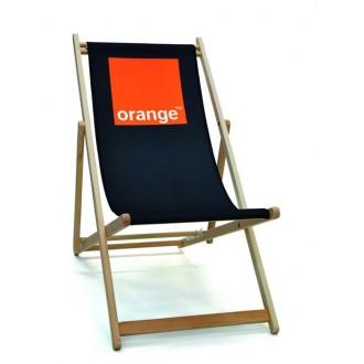 Chaise longue bois ou acier