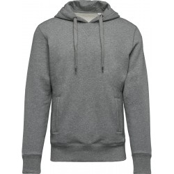 SWEAT-SHIRT BIO CAPUCHE HOMME COULEUR
