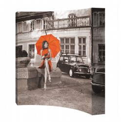 Stand parapluie courbé Kjell