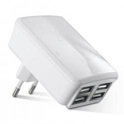 Chargeur secteur 4 USB Reece