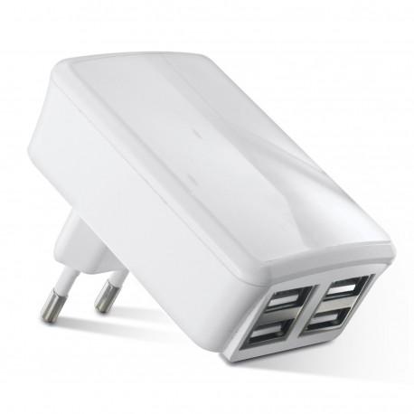 CHARGEUR SECTEUR 4 USB