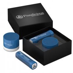 Coffret batterie de secours 2600 mAh et mini enceinte Bluetooth® Juho