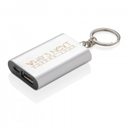 Porte-clés batterie de secours 1000 mAh Ylva
