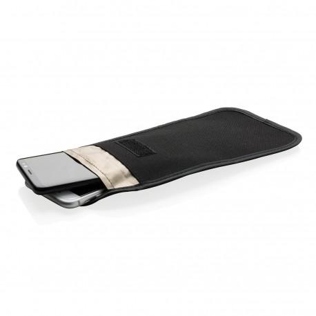 Pochette téléphone anti ondes, noir