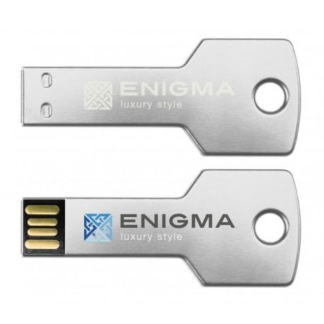 Clé USB en forme de clé Aluminium