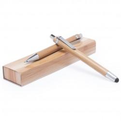 Parure bambou bille stylet et porte-mine Mala
