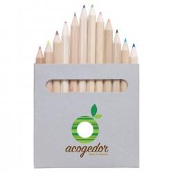 Boîte de 12 crayons de couleur éco Mauri