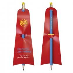 Super crayon de papier batman éco vernis gomme