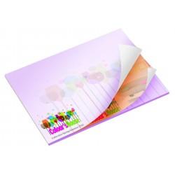 Bloc papier repositionnable 50 feuillets alternés