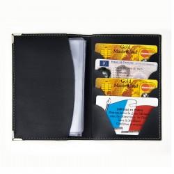Porte-cartes 4 cartes de crédit Hakan