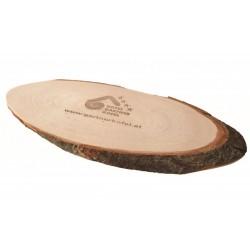 Planche en bois avec écorce Banu