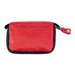 Set de premiers secours dans une pochette, rouge