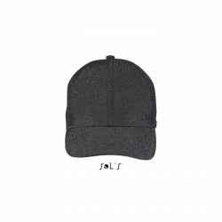 Casquette denim 6 pans Harriet