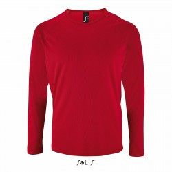 Tee-shirt respirant manches longues femme ou homme 140 g