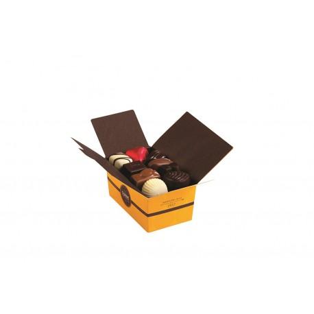 BALLOTIN 17 CHOCOLATS ASSORTIS SANS CRÈME ET SANS ALCOOL