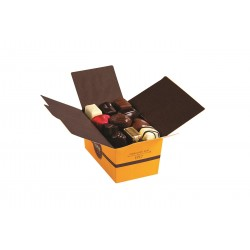 BALLOTIN 26 CHOCOLATS ASSORTIS SANS CRÈME ET SANS ALCOOL