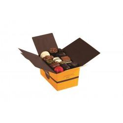 BALLOTIN 34 CHOCOLATS ASSORTIS SANS CRÈME ET SANS ALCOOL