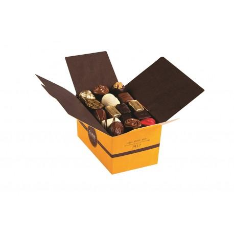 BALLOTIN 50 CHOCOLATS ASSORTIS SANS CRÈME ET SANS ALCOOL