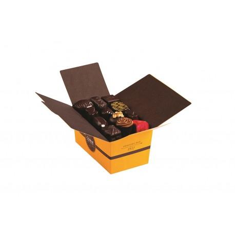 BALLOTIN 34 CHOCOLATS NOIRS SANS ALCOOL