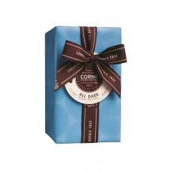 Assortiment de 51 pralines au chocolat noir