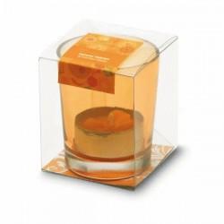 Bougeoir d'ambiance en verre Tukka