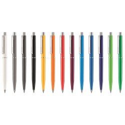 STYLO BILLE POINT POLISHED MARQ. 1 COULEUR