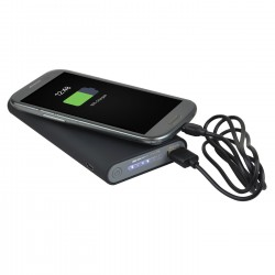 Batterie de secours à induction 2 en 1, Hillston 8000 mAh
