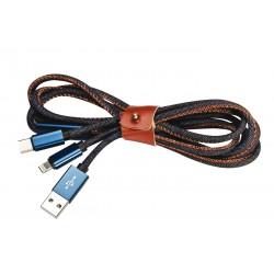 Câble de chargement multi-connecteurs Gawler