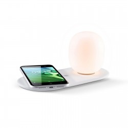 Lampe de bureau avec chargeur à induction Marly 10 W