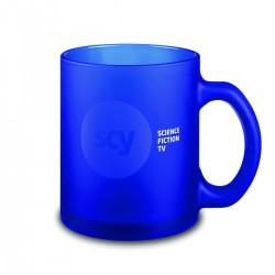 Mug verre Frozen blanc ou coloré 25 cl