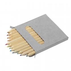 Boîte de 12 crayons de couleur Siska