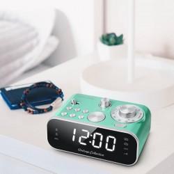 Radio réveil double alarme Daam